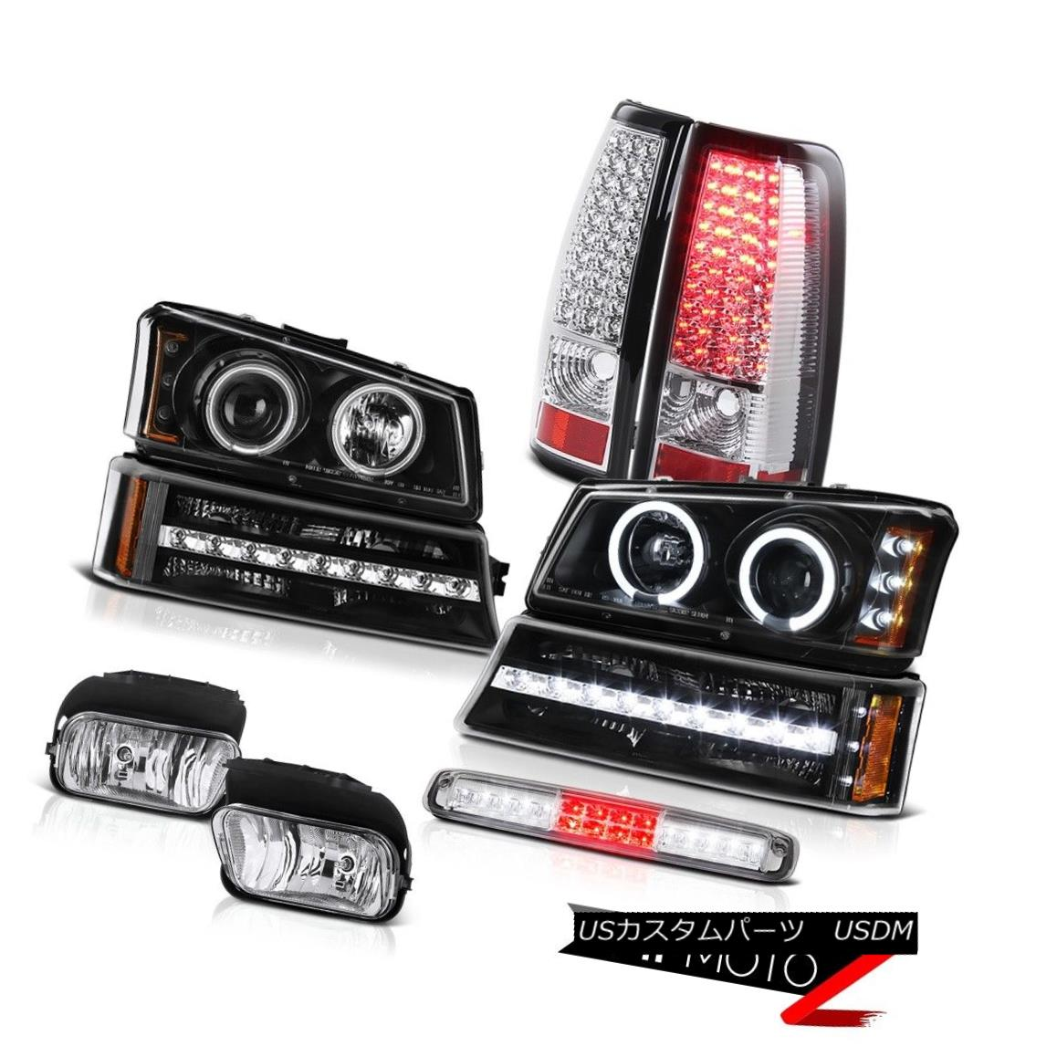 テールライト 03-06 Chevy Silverado 1500 Foglamps High Stop Light Signal Headlights Taillights 03-06 Chevy Silverado 1500 Foglampsハイストップライトシグナルヘッドライトテールライト