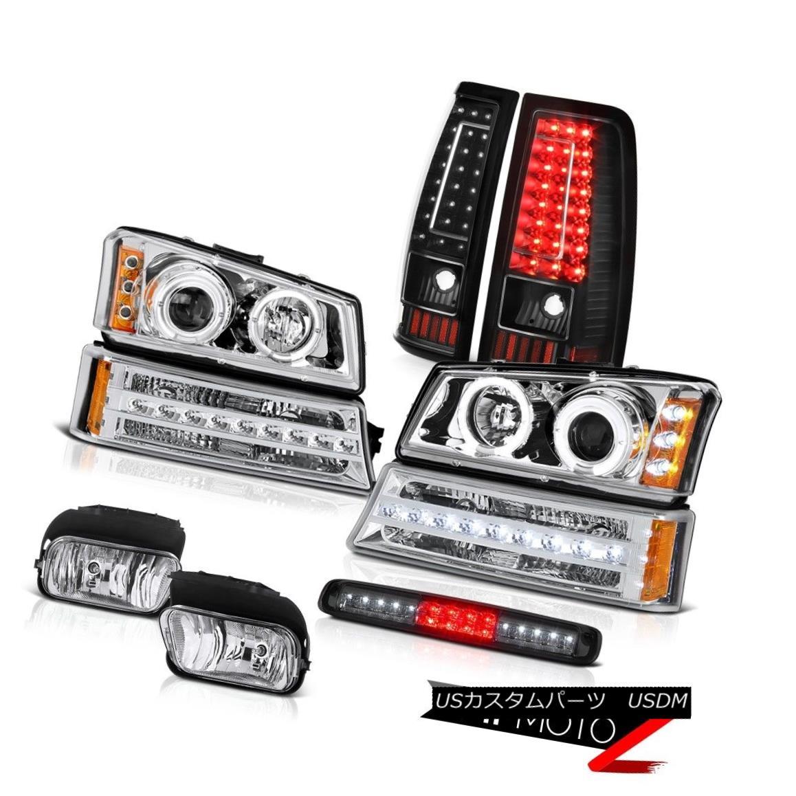 テールライト 03 04 05 06 Silverado 1500 3RD Brake Lamp Fog Lights Taillamps Signal Headlights 03 04 05 06 Silverado 1500 3RDブレーキランプフォグライトタイヤランプ信号ヘッドライト