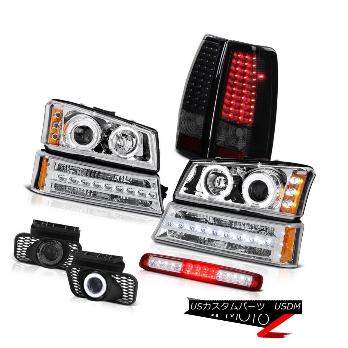 テールライト 03-06 Silverado 1500 3RD Brake Light Fog Lights Parking Lamp Tail Headlamps SMD 03-06 Silverado 1500 3RDブレーキライトフォグライトパーキングランプテールヘッドランプSMD