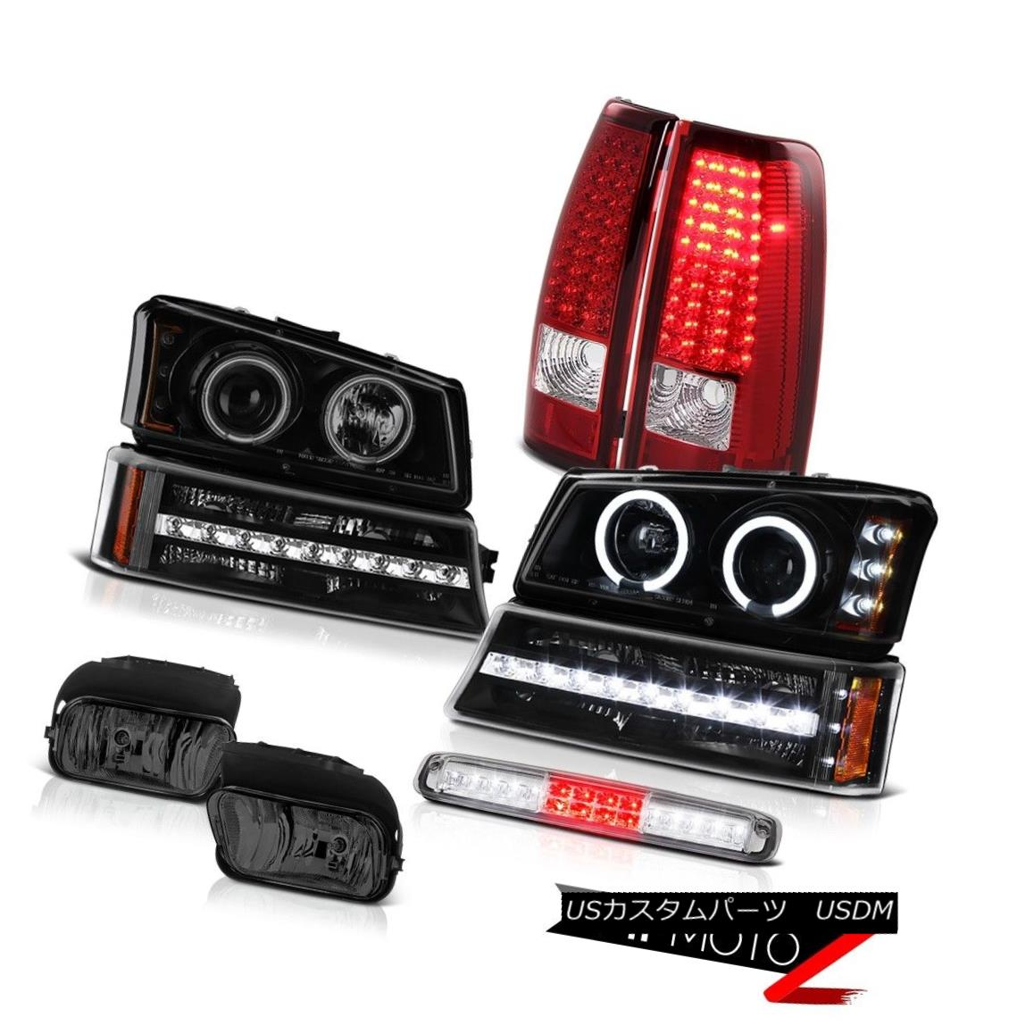テールライト 03-06 Silverado Fog Lights Roof Cab Lamp Turn Signal Headlamps Red Tail Lamps 03-06 Silveradoフォグライトルーフキャブランプターンシグナルヘッドランプレッドテールランプ