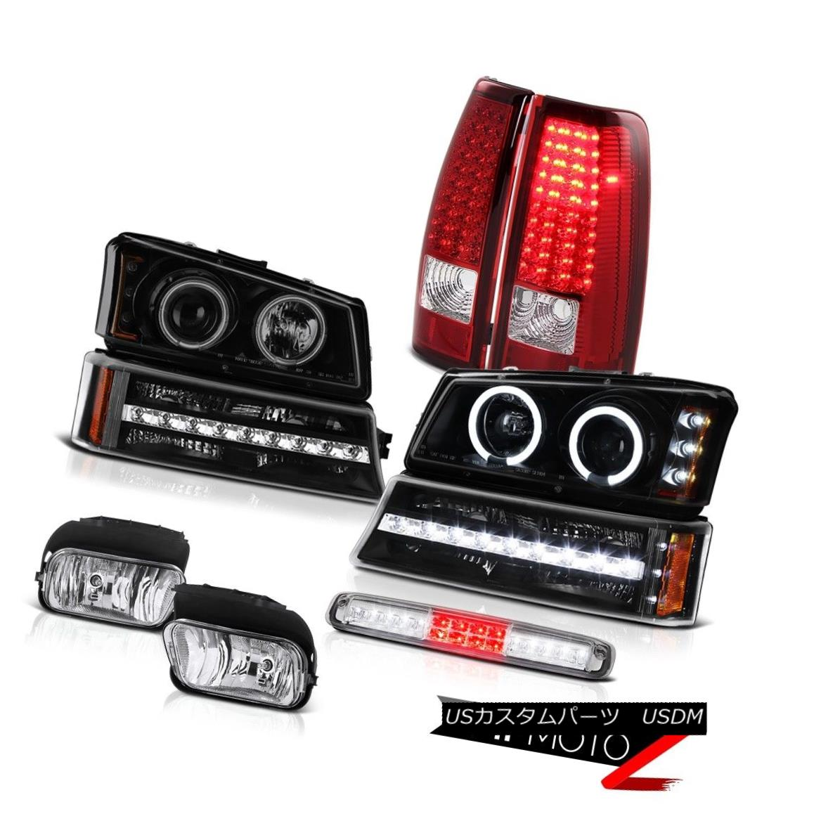 テールライト 2003-2006 Silverado Foglamps Roof Cab Lamp Turn Signal Headlamps Taillamps LED 2003-2006シルバラードフォグランプルーフキャブランプターンシグナルヘッドランプタイルランプ