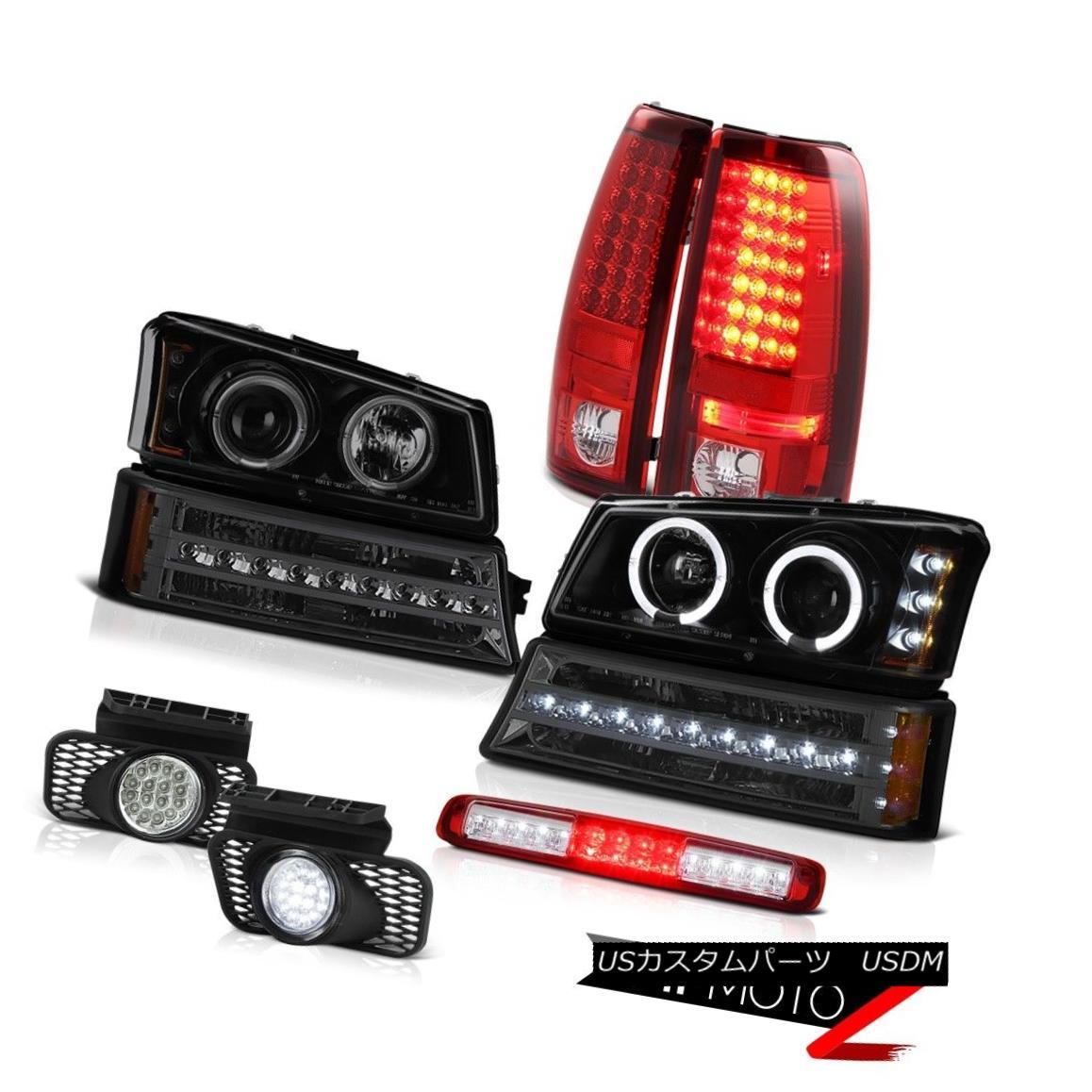 テールライト 03-06 Silverado Red Roof Cab Lamp Foglamps Bumper Light Headlamps Tail Lamps 03-06シルバラードレッドルーフキャブランプフォグランプバンパーライトヘッドランプテールランプ