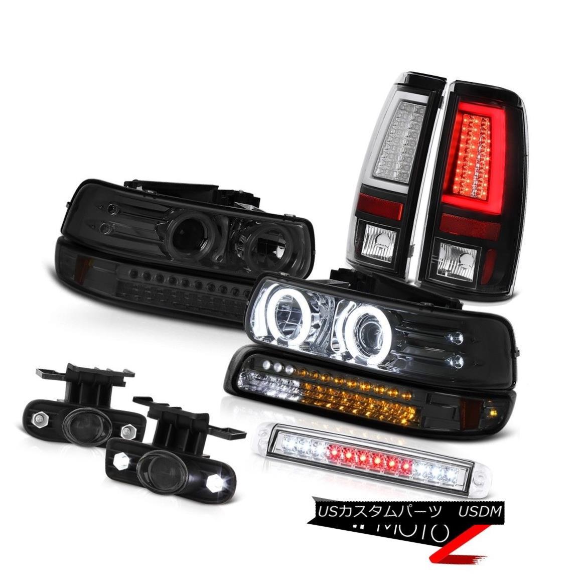 テールライト 1999-2002 Silverado 4WD Taillamps Roof Cab Lamp Signal Headlamps Foglights LED 1999-2002シルバラード4WDタイルランプルーフキャブ・ランプ信号ヘッドランプフォグライトLED