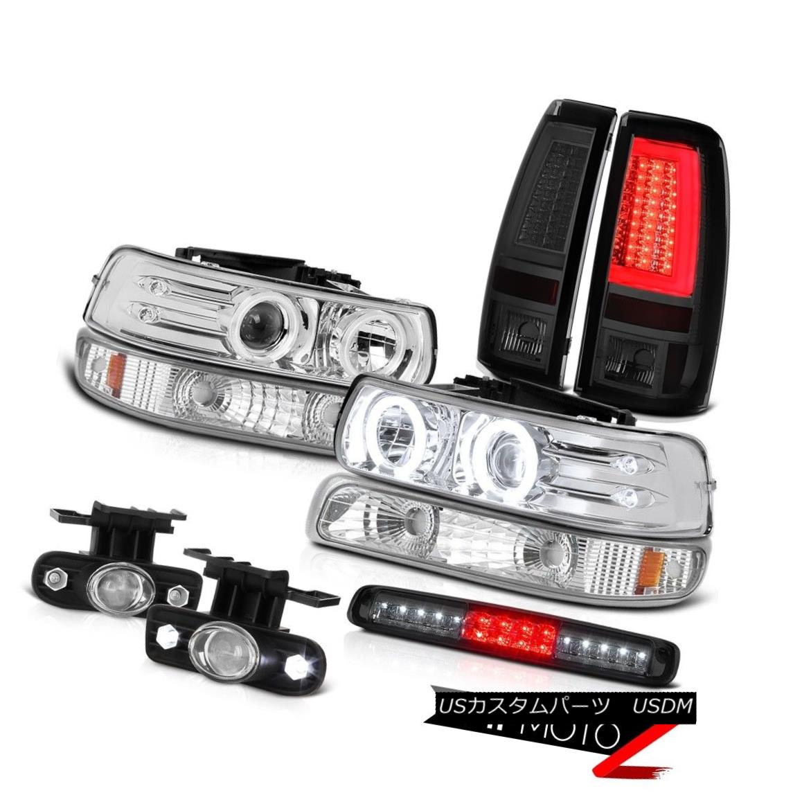 テールライト 99-02 Silverado LTZ Taillamps Signal Light Headlights High Stop Fog Lights LED 99-02 Silverado LTZ TaillampsシグナルライトヘッドライトハイストップフォグライトLED