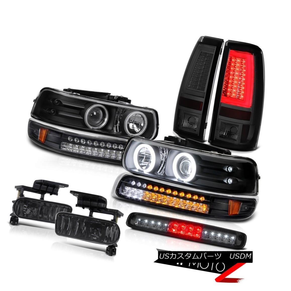 テールライト 1999-2002 Silverado 2500HD Taillights Roof Brake Light Foglamps Bumper Headlamps 1999-2002シルバラード2500HDテールライトルーフブレーキライトフォグランプバンパーヘッドランプ