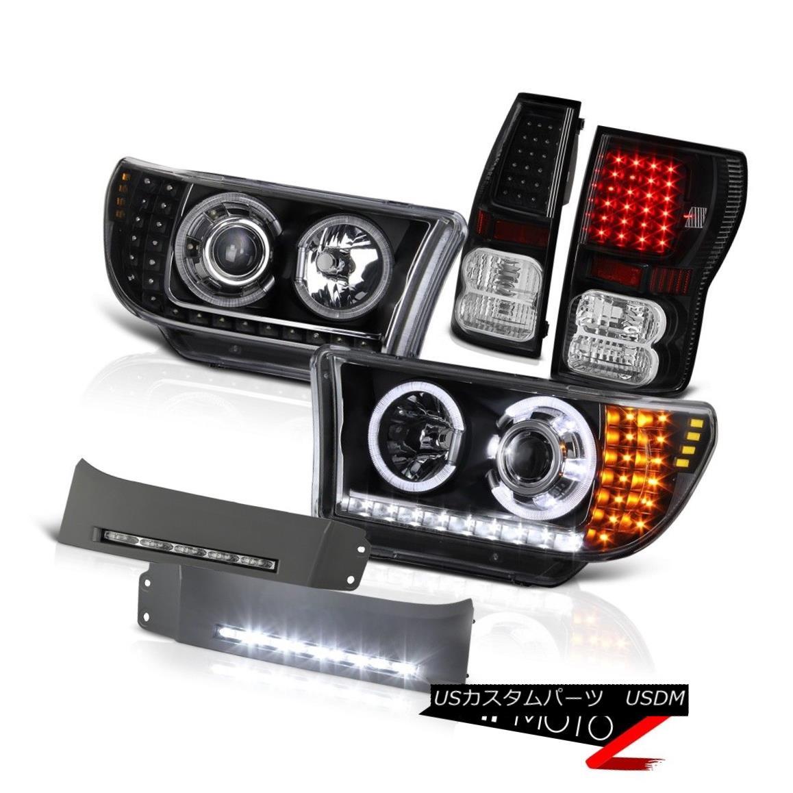 人気ブランドの テールライト 2007-13 Toyota Tundra 2007-13 LIMITED Halo LED Halo Headlight Tail Tail Lights Trim Fog Light Lamp 2007?13年Toyota Tundra LIMITED Halo LEDヘッドライトテールライトトリムフォグライトランプ, 子供服POCKET:0d6a2914 --- yatenderrao.com