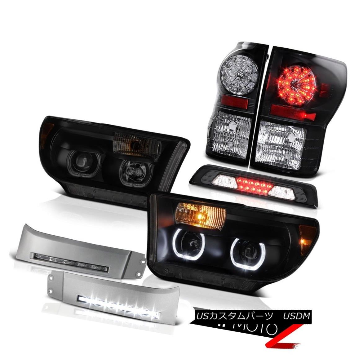 【爆買い!】 テールライト 07-13 Strip Toyota Tundra SR5 07-13 Headlamps DRL Strip Halo Roof Cab Light Taillights Halo Ring 07-13トヨタトンドラSR5ヘッドライトDRLストリップ屋根キャブライトテールライトハローリング, 新宿区:79f072b8 --- yatenderrao.com