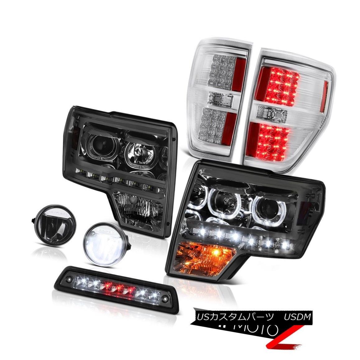 【1着でも送料無料】 テールライト 09-14 F150 6.2L F150 3rd foglights brake light 09-14 chrome foglights tail lights Headlamps SMD DRL 09-14 F150 6.2L第3ブレーキライトクロームフォグライトテールライトヘッドランプSMD DRL, 大岡村:7d65daf7 --- irecyclecampaign.org