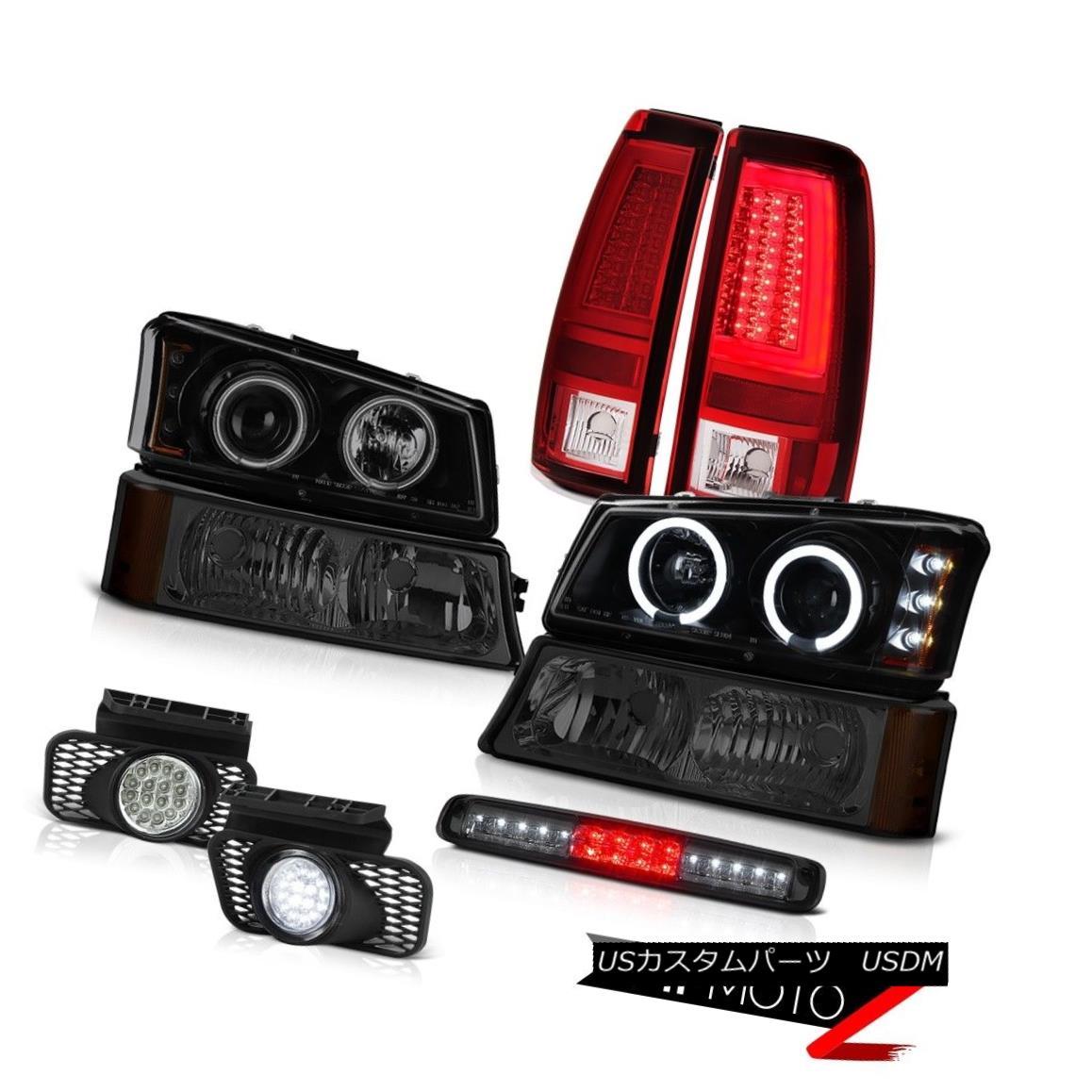 テールライト 2003-2006 Silverado Tail Lights Parking Light Roof Brake Fog Headlamps Tron Tube 2003-2006シルバラードテールライトパーキングライトルーフブレーキフォグヘッドランプトロンチューブ