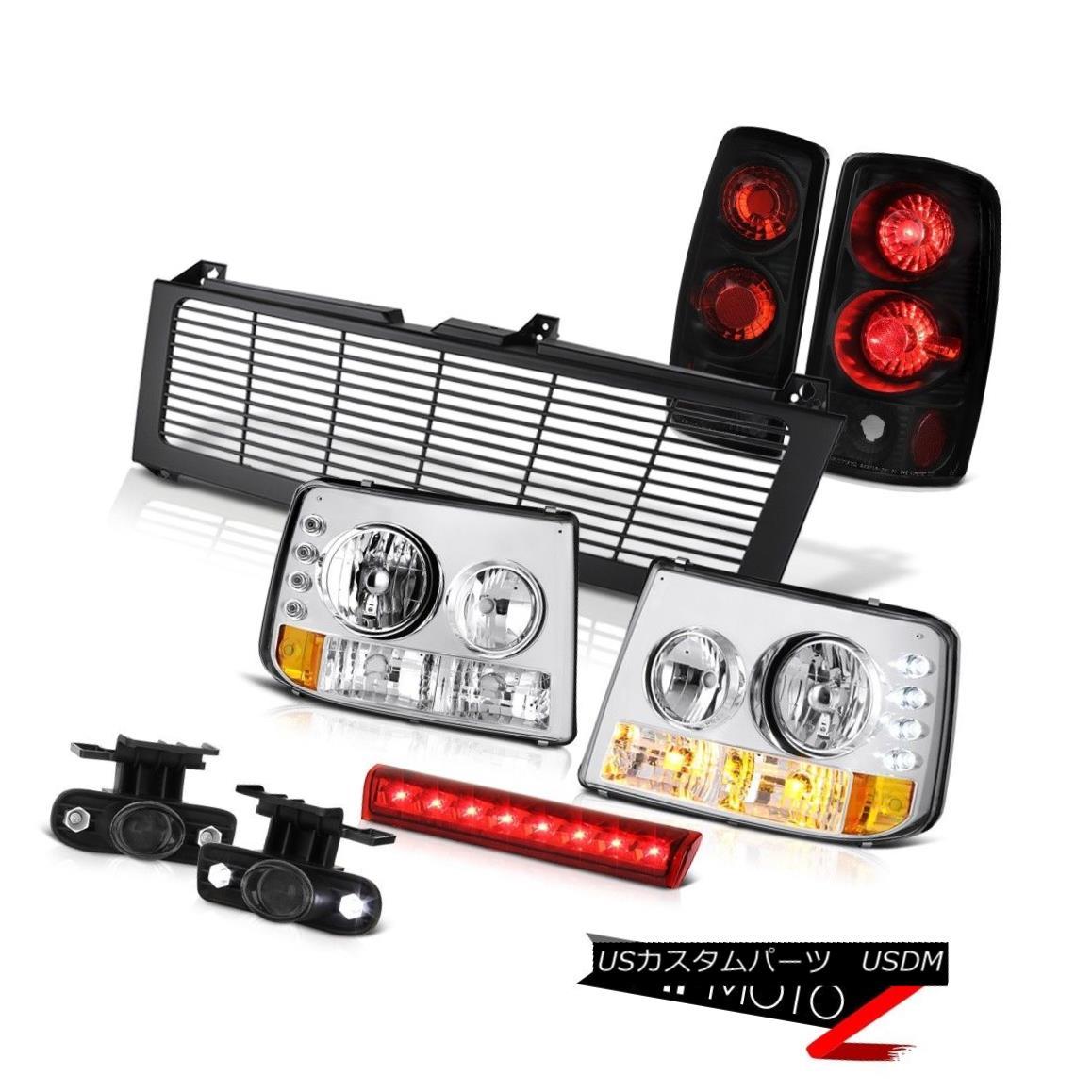 テールライト Euro Headlight Signal Taillight Brake Cargo LED Grille 03 04 05 06 Suburban 1500 ユーロヘッドライト信号テールライトブレーキカーゴLEDグリル03 04 05 06郊外1500
