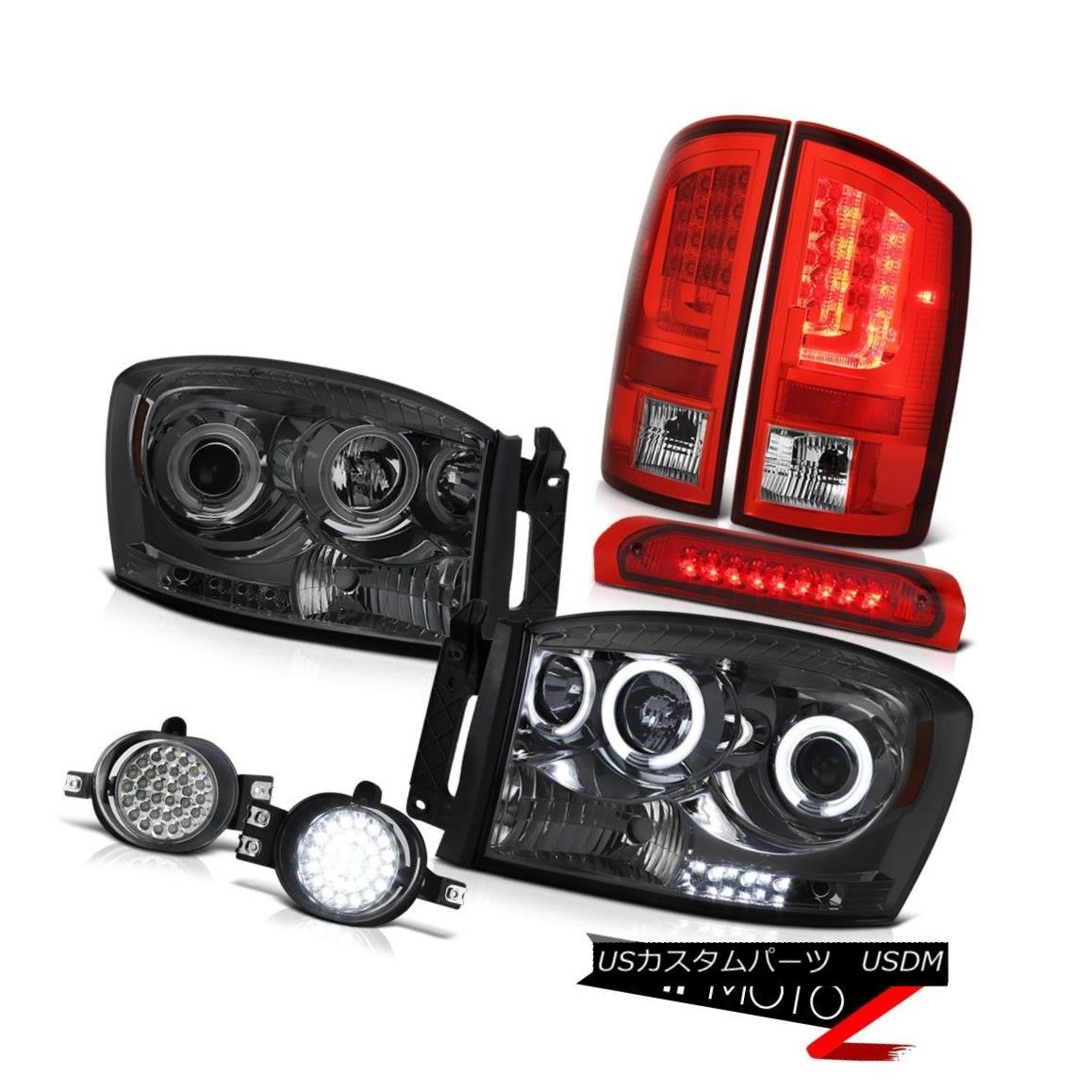 テールライト 07-08 Ram 1500 2500 3500 WS Tail Lamps Headlights Fog High STop Lamp