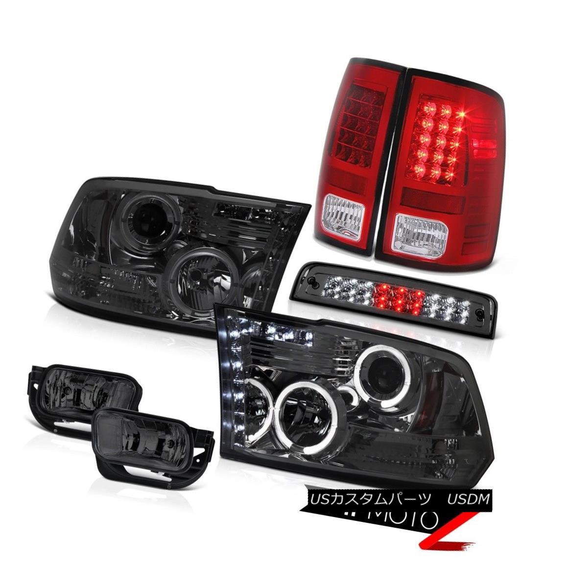 テールライト 09-13 Dodge Ram 1500 6.4L Foglamps 3RD Brake Lamp Red Taillamps Headlamps LED 09-13 Dodge Ram 1500 6.4L Foglamps 3RDブレーキランプレッドタイルランプヘッドランプLED
