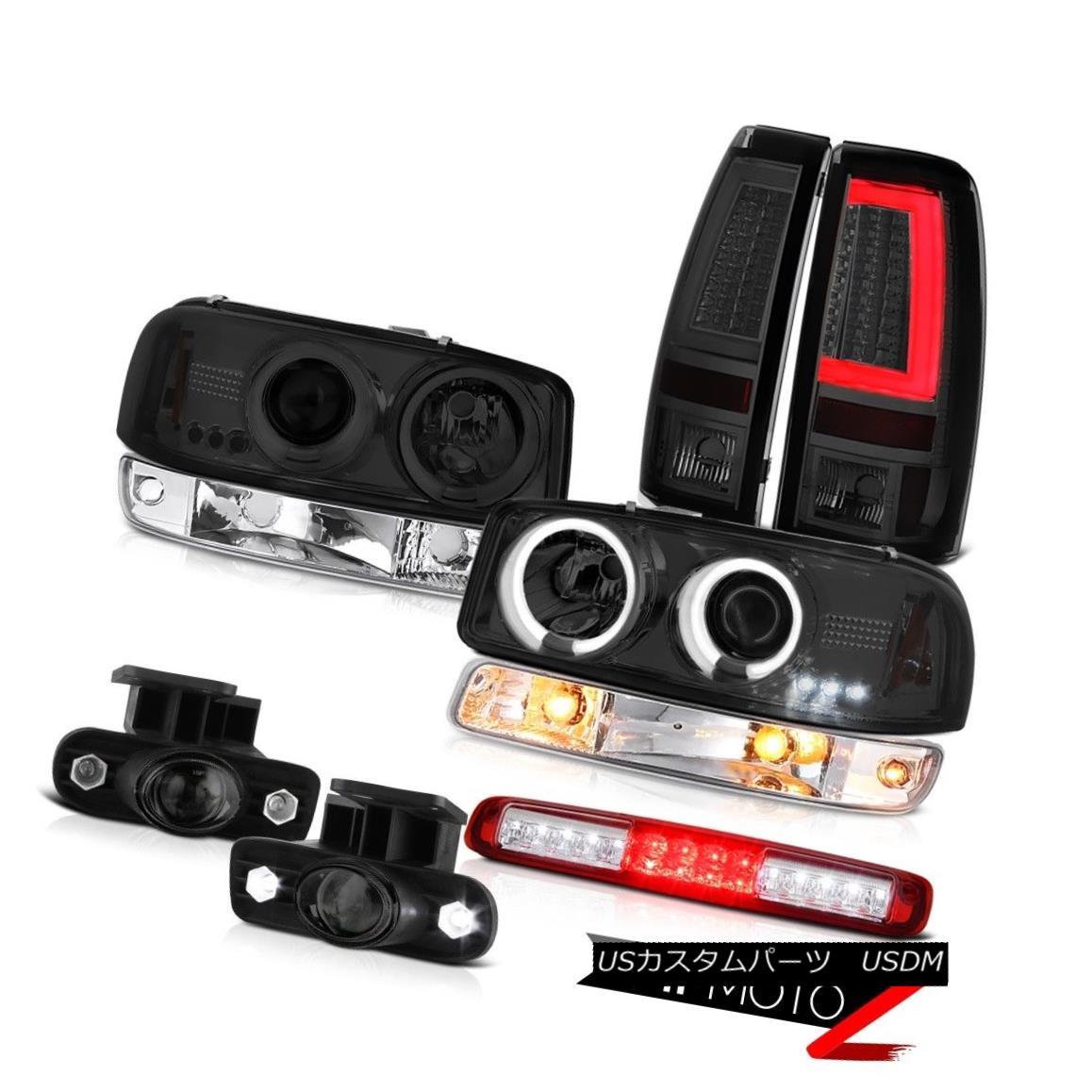 テールライト 99-02 Sierra 4.3L Taillamps High Stop Lamp Bumper Light Foglamps CCFL Headlights 99-02 Sierra 4.3L TaillampsハイストップランプバンパーライトフォグランプCCFLヘッドライト