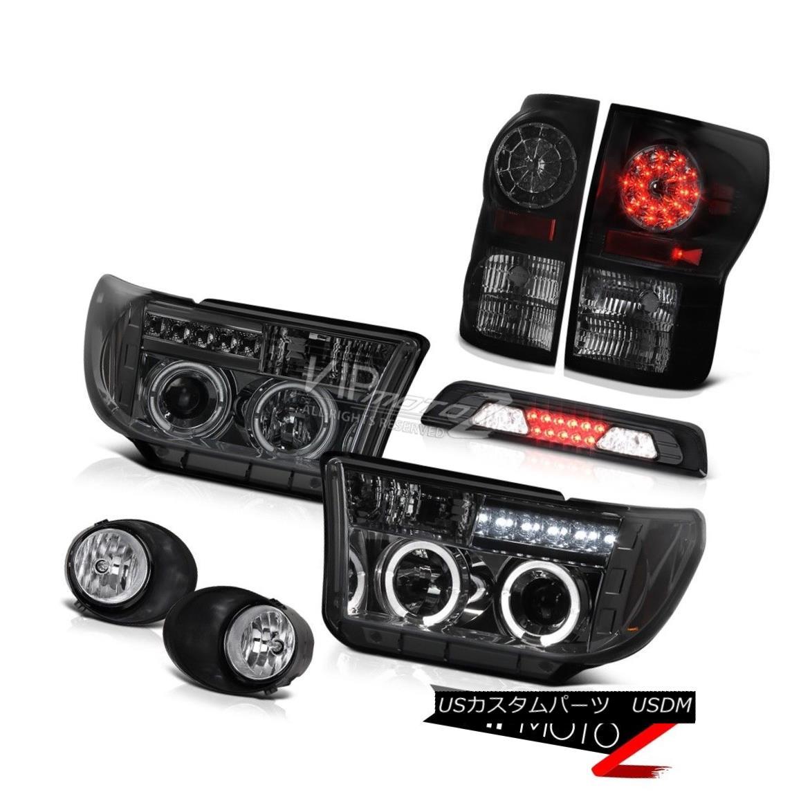テールライト 2007-2013 Toyota Tundra SR5 Fog Lamps 3RD Brake Light Headlights Taillights SMD 2007-2013トヨタトンドラSR5フォグランプ3RDブレーキライトヘッドライト灯台SMD