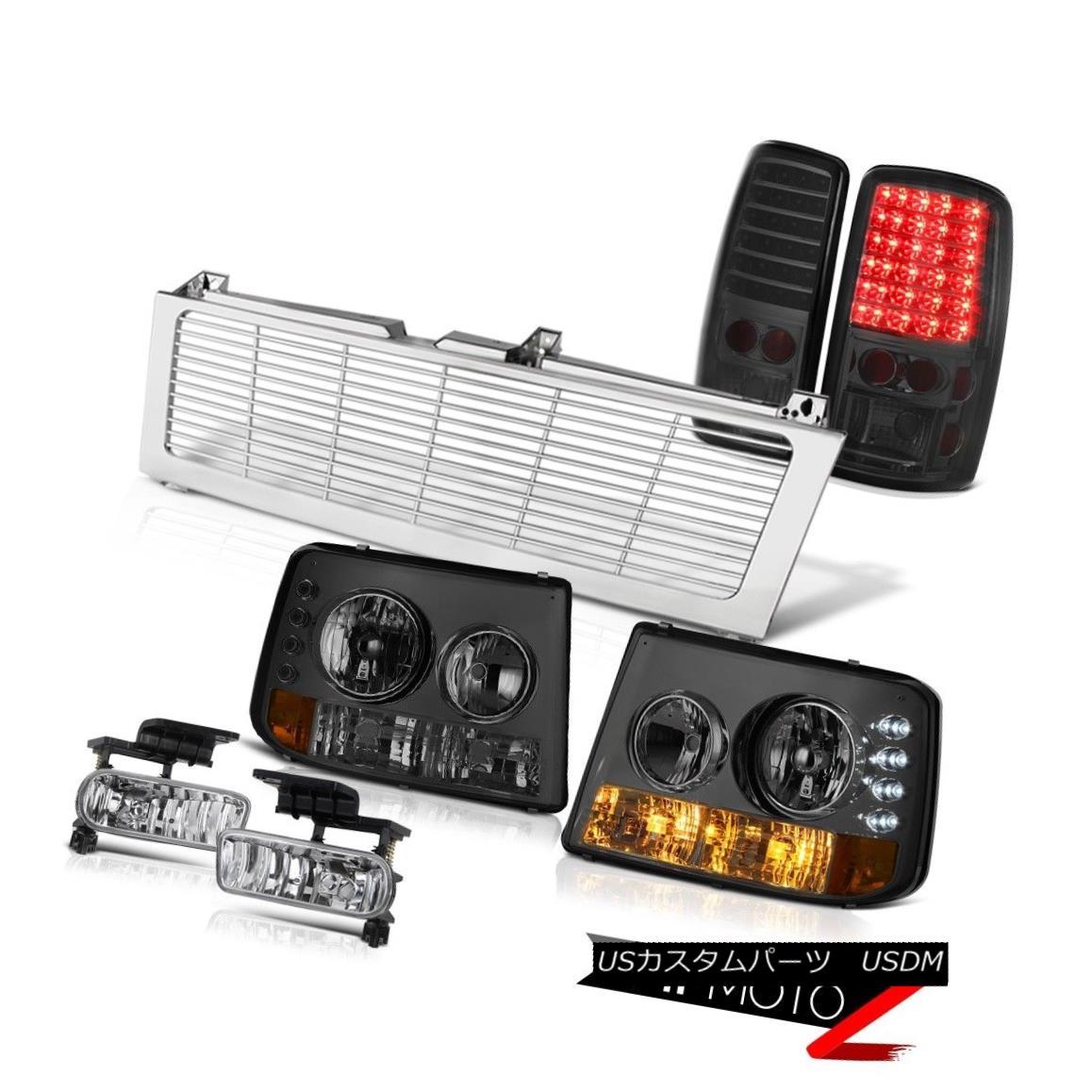 テールライト 01 02 03 04 05 06 Suburban LT Bumper+Headlight Tail Light Euro Fog Chrome Grille 01 02 03 04 05 06郊外LTバンパー+ヘッドリッグ htテールライトユーロフォグクロームグリル