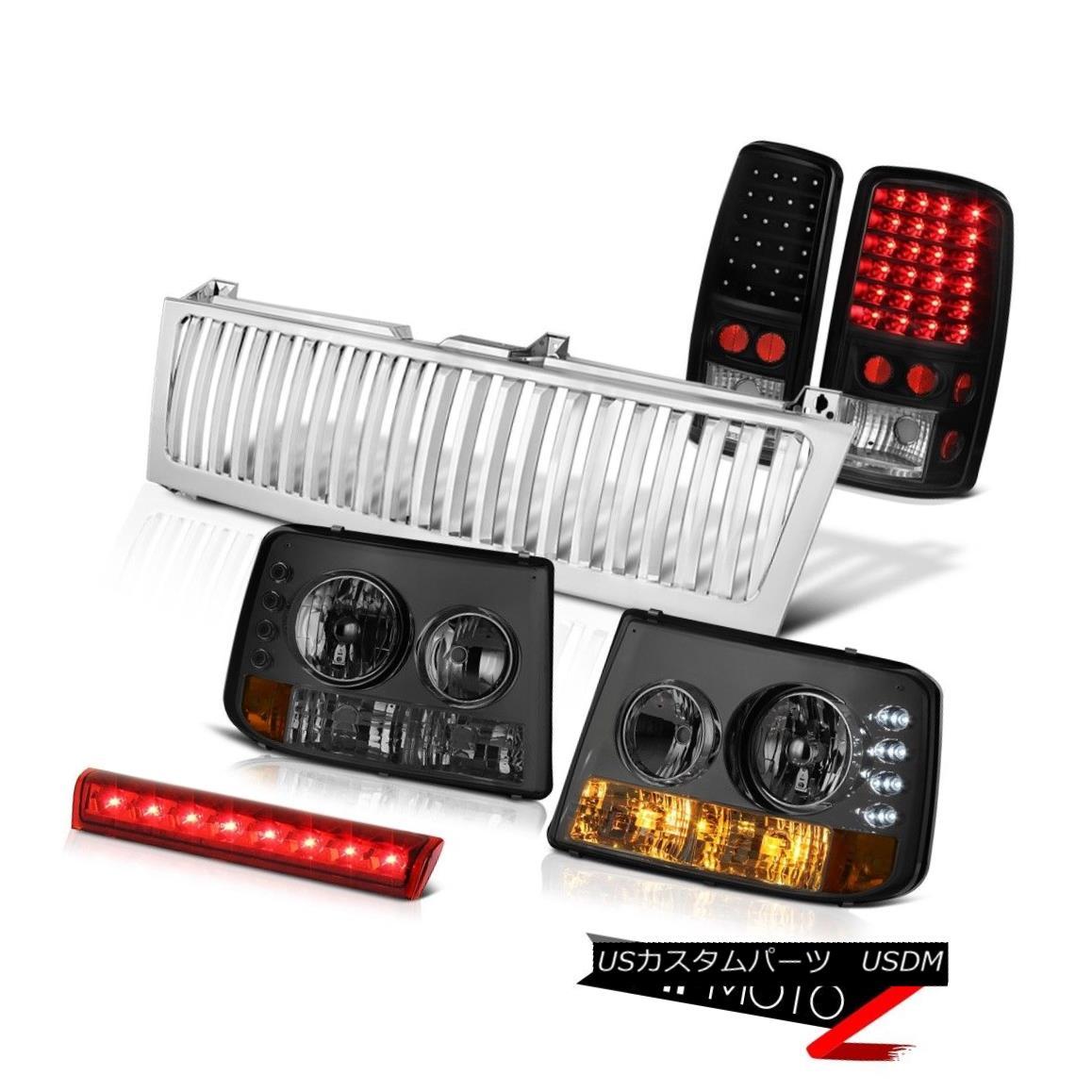 テールライト 00 01 02 03 04 Suburban LS Headlights SMD Brake Tail Lights Third Cargo Grille 00 01 02 03 04郊外LSヘッドライトSMDブレーキテールライト第3貨物グリル