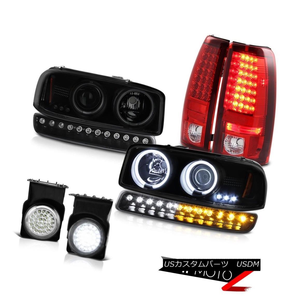 テールライト 03 04 05 06 Sierra C3 Fog lamps taillamps turn signal ccfl projector headlamps 03 04 05 06シエラC3フォグランプテールランプ信号ccflプロジェクターヘッドランプ