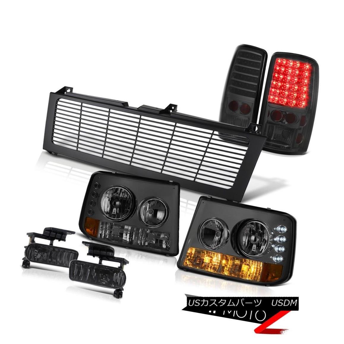 テールライト 00 01 02 03 05 06 Suburban Bumper+Headlight LED Taillamp Bumper Fog Black Grille 00 01 02 03 05 06郊外バンパー+ヘッドリッグ ht LED Taillampバンパーフォグブラックグリル