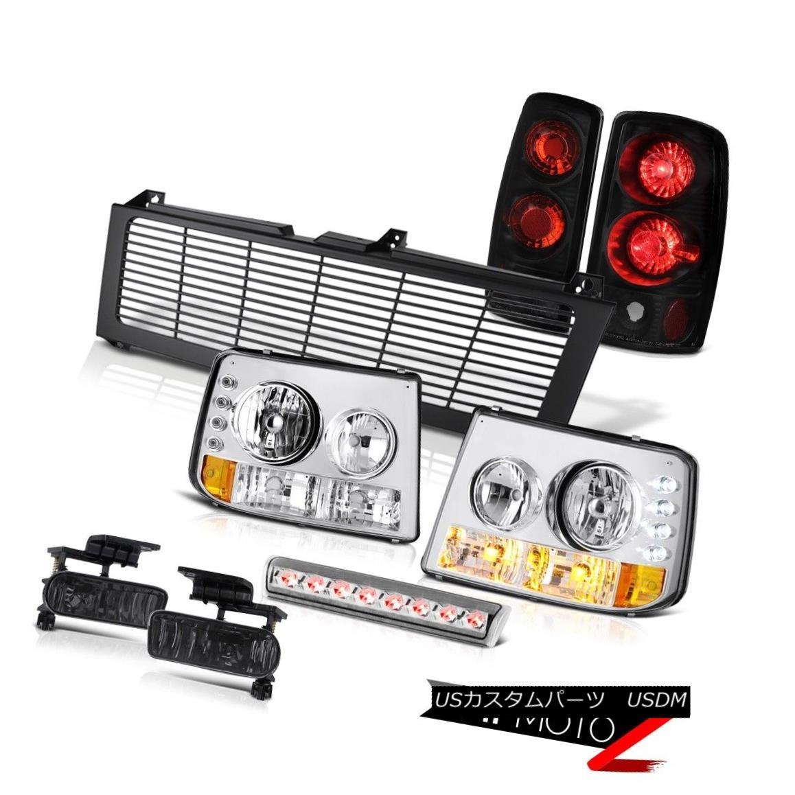 テールライト Signal Headlamps Tail Light Fog Roof Stop LED Grille 00 01 02 03 Chevy Suburban 信号ヘッドランプテールライトフォグルーフストップLEDグリル00 01 02 03シボレー郊外