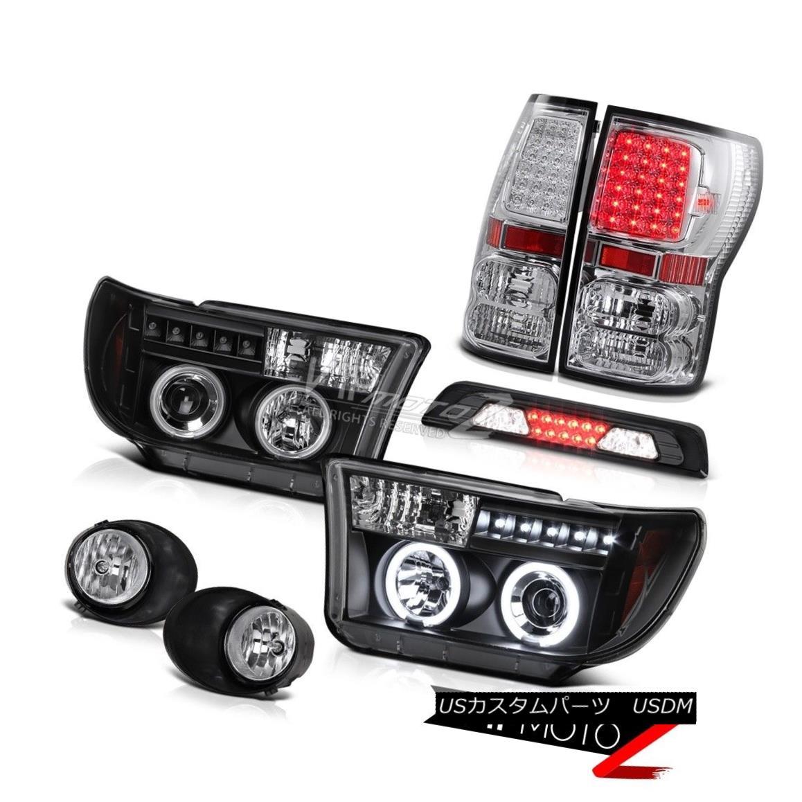 テールライト 07-13 Toyota Tundra Limited Fog Lamps High Stop Lamp Tail Brake Lights Headlamps 07-13 Toyota Tundra Limitedフォグランプハイストップランプテールブレーキライトヘッドランプ