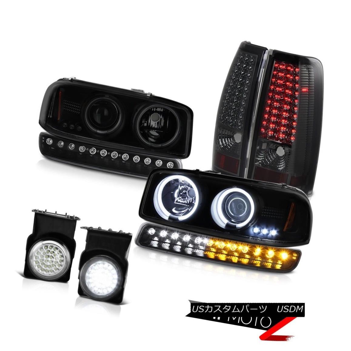 テールライト 03 04 05 06 Sierra 3500HD Foglights tail lamps signal light ccfl headlights LED 03 04 05 06シエラ3500HDフォグライトテールランプ信号光ccflヘッドライトLED:WORLD倉庫 店