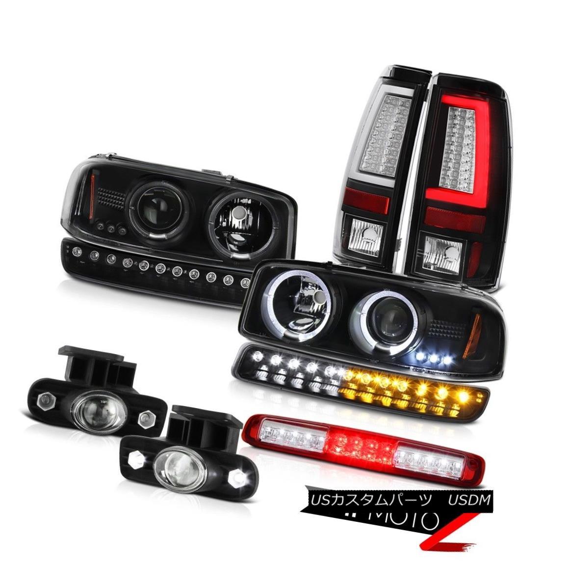 テールライト 1999-2002 Sierra 1500 Taillights Roof Brake Light Parking Fog Lights Headlights 1999-2002シエラ1500灯台ルーフブレーキライトパーキングフォグライトヘッドライト