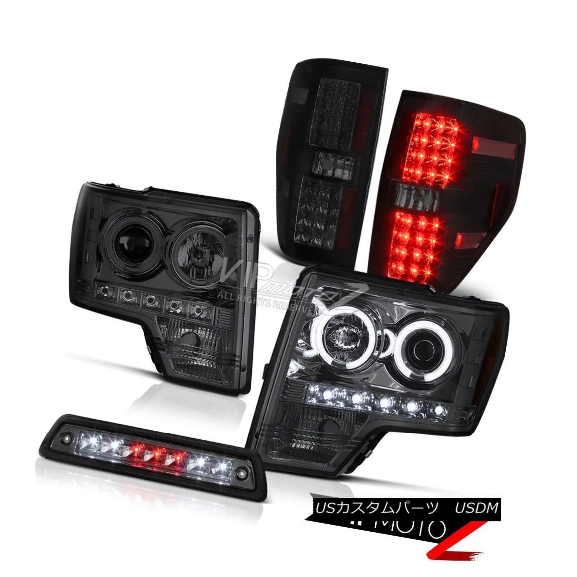 テールライト 09-14 F150 FX4 Smoked 3rd brake light rear lamps projector Headlamps LED Newest 09-14 F150 FX4スモーク第3ブレーキライトリアプロジェクタープロジェクターヘッドランプLED最新