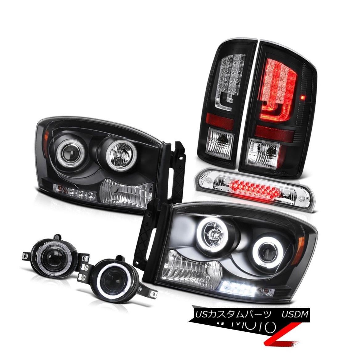 テールライト 2007-2008 Dodge Ram 1500 SLT Tail Lights Headlights Foglamps Roof Cargo Light 2007-2008ダッジラム1500 SLTテールライトヘッドライトフォグランプ屋根カーゴライト
