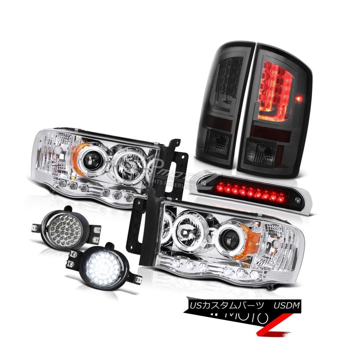 テールライト 2002-2005 Dodge Ram 1500 ST Taillamps Third Brake Light Headlamps Foglights LED 2002-2005 Dodge Ram 1500 ST Taillamps第3ブレーキライトヘッドランプフォグライトLED