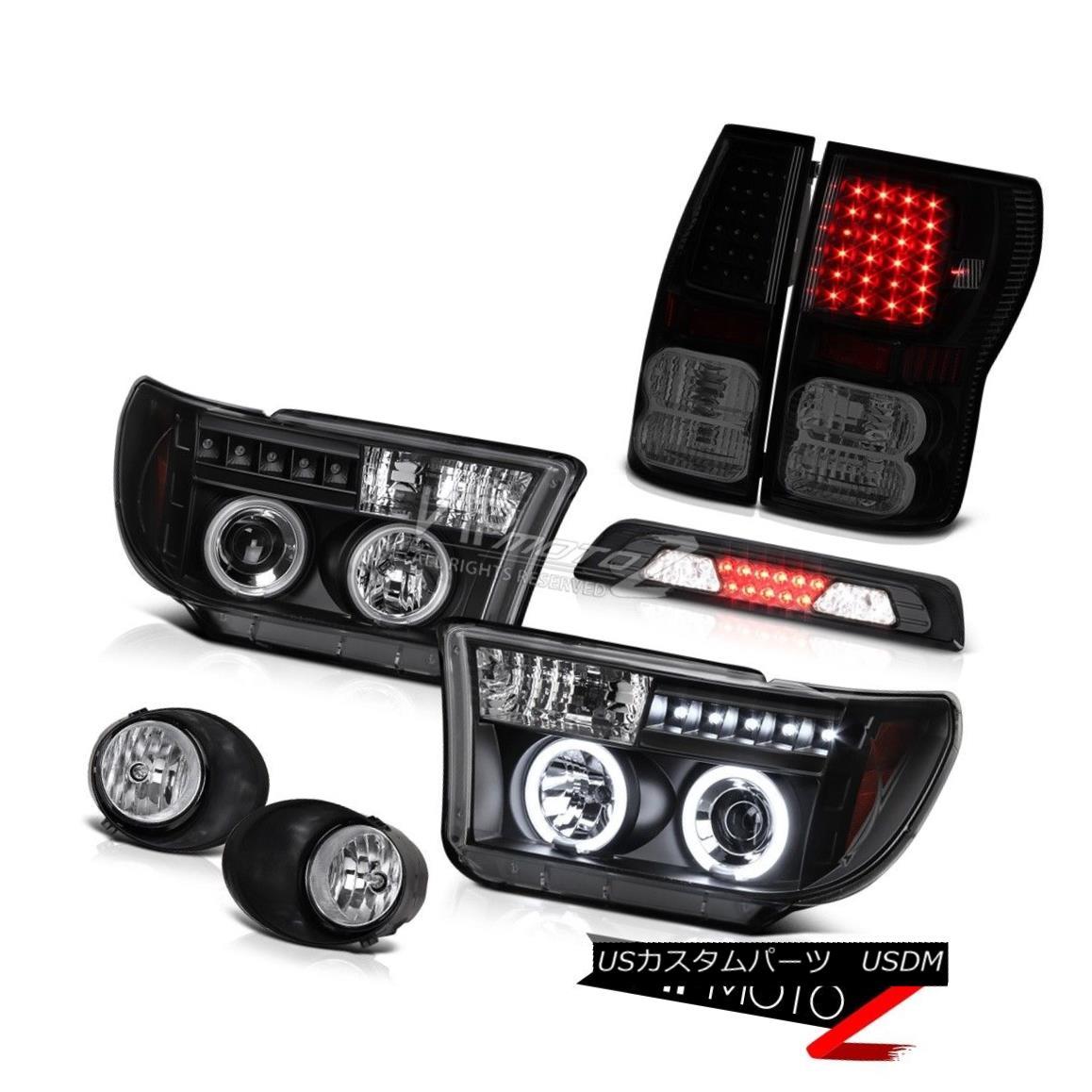 テールライト 07-13 Toyota Tundra SR5 Foglamps Roof Cargo Lamp Tail Brake Lamps Headlights LED 07-13トヨタトンドラSR5フォグランプルーフカーゴランプテールブレーキランプヘッドライトLED