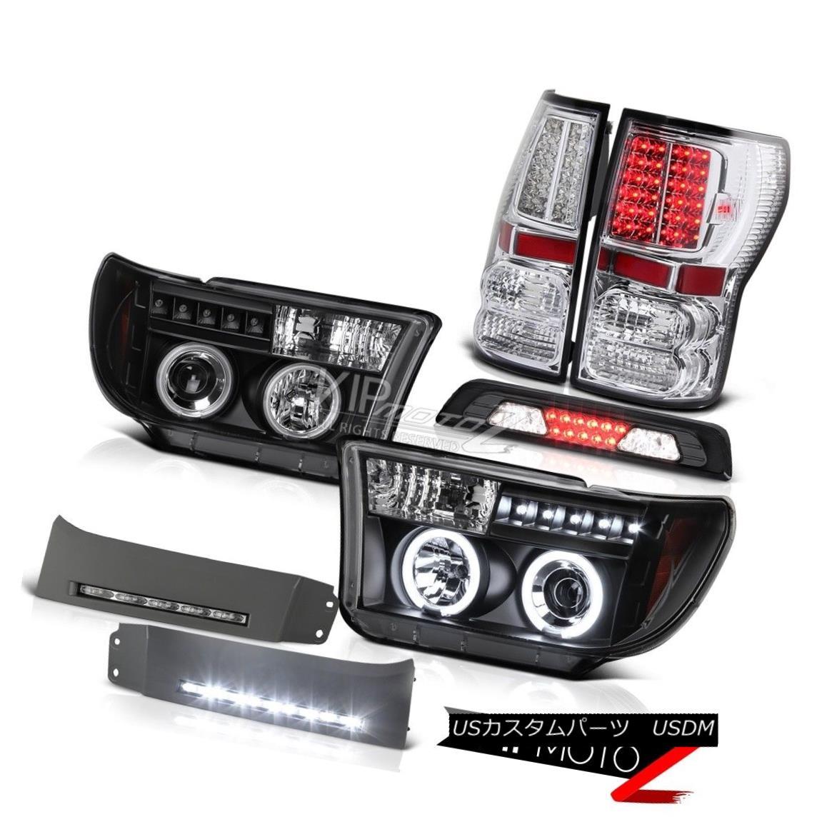 テールライト 2007-2013 Toyota Tundra Limited DRL Strip 3RD Brake Light Tail Lights Headlamps 2007-2013トヨタ・トンドラ限定DRLストリップ3RDブレーキライトテールライトヘッドランプ