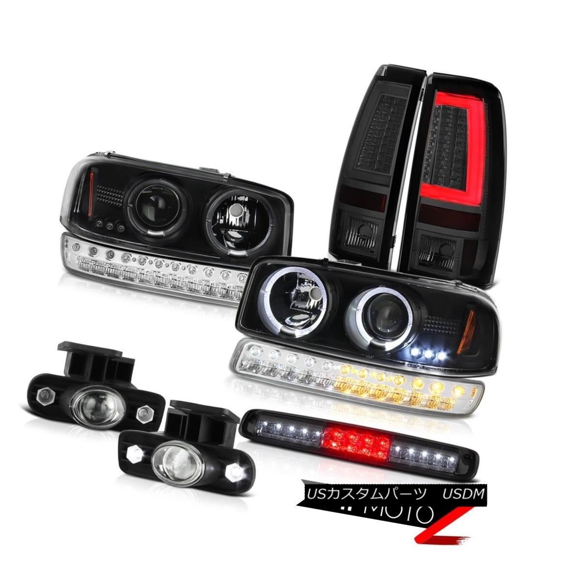 テールライト 99-02 Sierra SL Taillamps Roof Cab Lamp Foglights Signal Headlights Neon Tube 99-02 Sierra SL Taillampsルーフキャブ・ランプフォグライト・シグナル・ヘッドライトネオン・チューブ