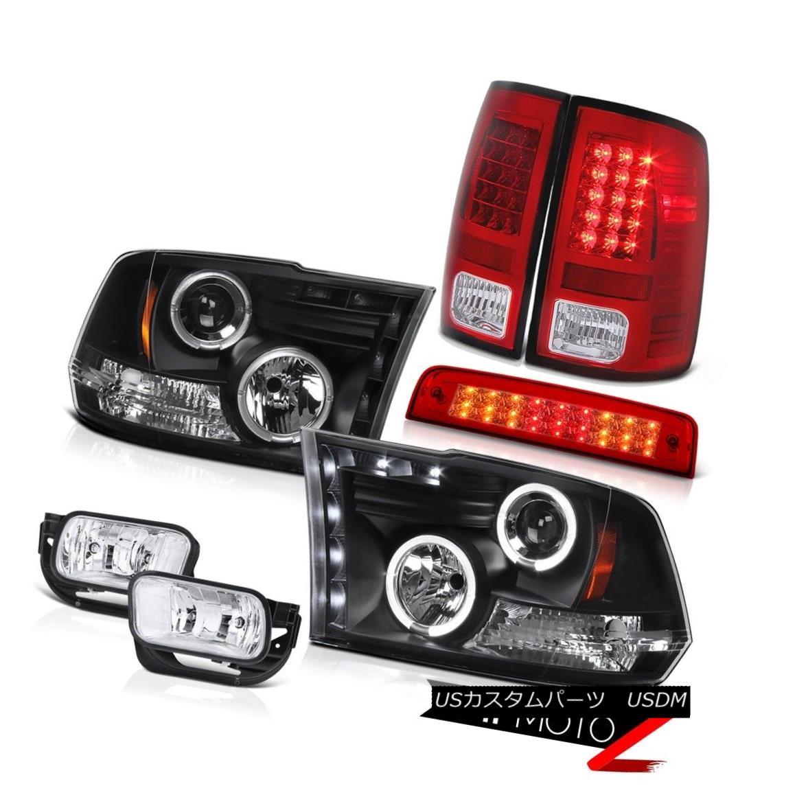 テールライト 2010-2018 Ram 3500 6.4L Red Roof Cargo Light Foglights Taillights Headlamps SMD 2010-2018 Ram 3500 6.4LレッドルーフカーゴライトフォグライトテールライトヘッドランプSMD