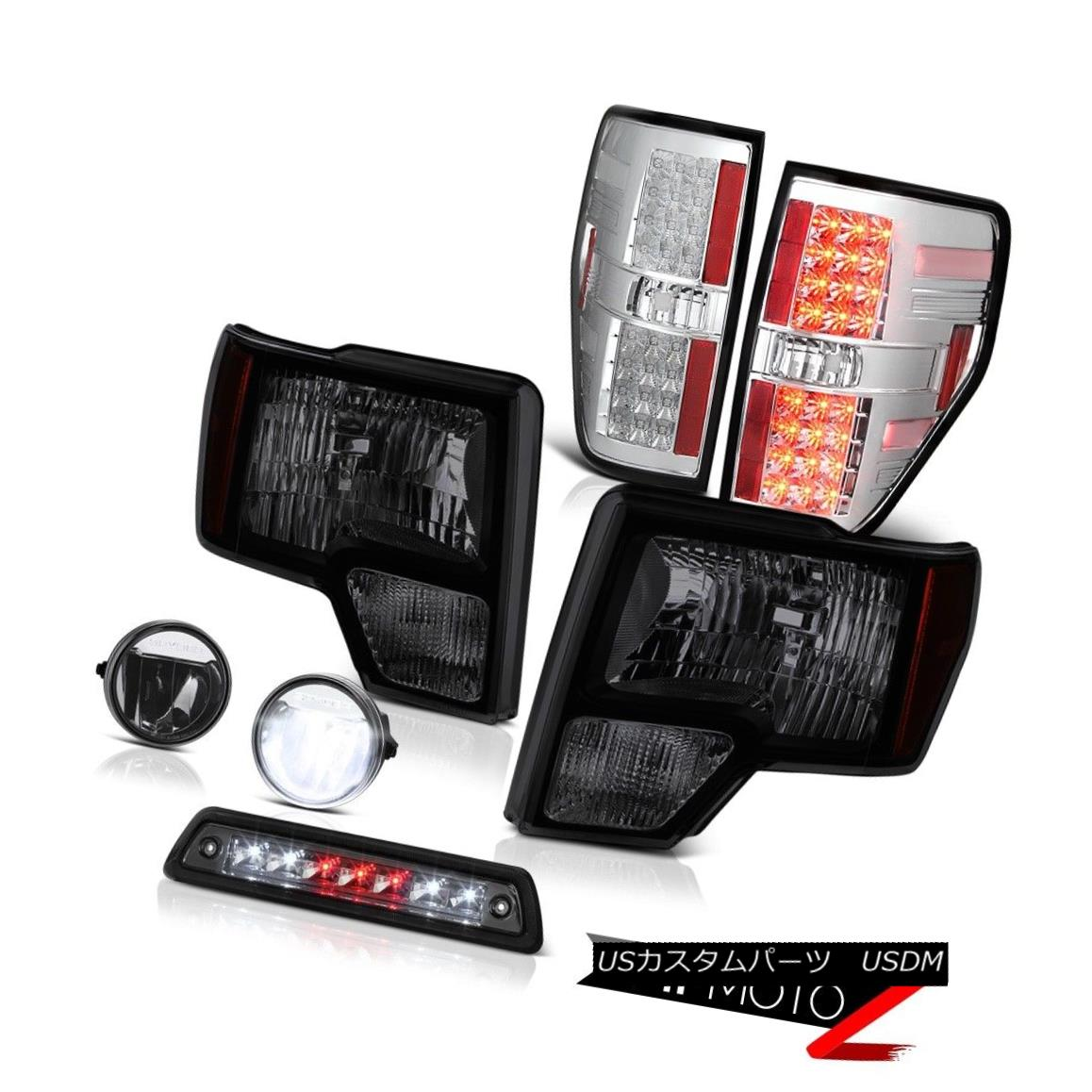 テールライト 09-14 F150 FX4 3rd brake light foglamps tail lights headlamps SMD Factory Style 09-14 F150 FX4第3ブレーキライトフォグライトテールライトヘッドランプSMD Factory Style