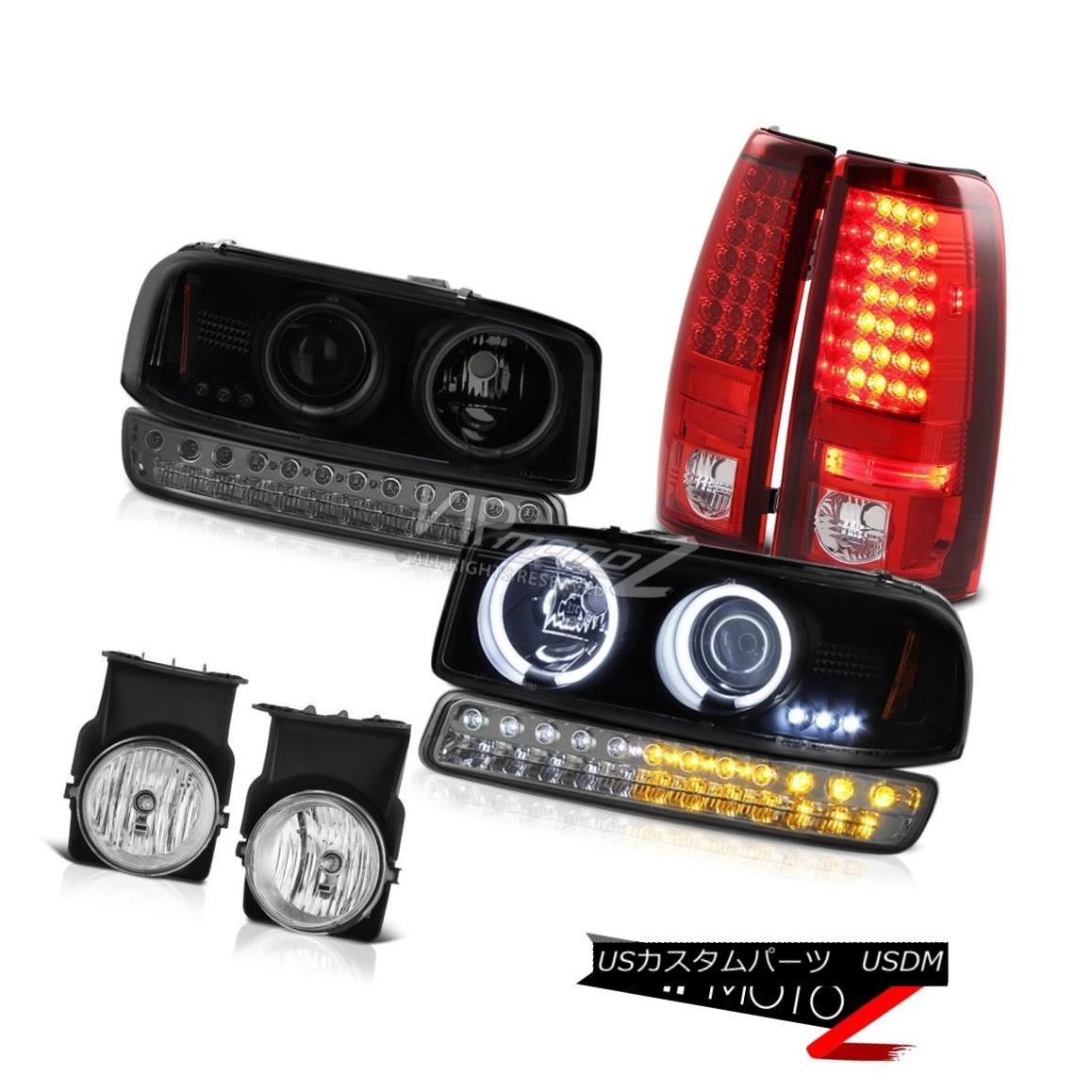 テールライト 2003-2006 Sierra 1500 Foglamps LED Taillamps Parking Light CCFL Headlights LED 2003-2006 Sierra 1500 Foglamps LEDタイルランプパーキングライトCCFLヘッドライトLED