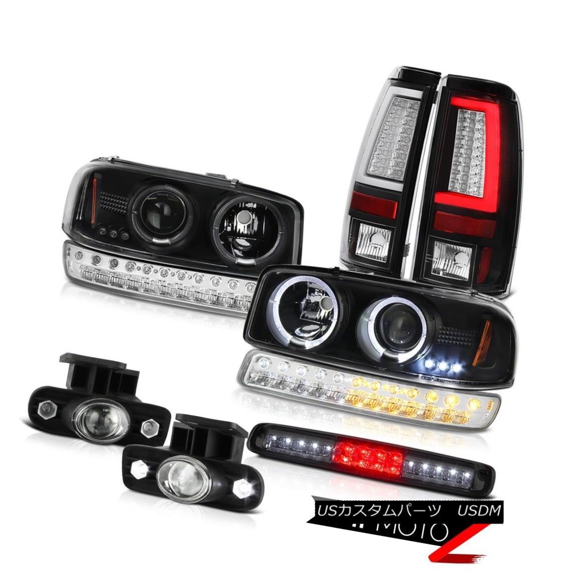 テールライト 1999-2002 Sierra 4.3L Tail Lamps 3RD Brake Lamp Foglights Signal Headlamps LED 1999-2002シエラ4.3Lテールランプ3RDブレーキランプフォグライトヘッドランプLED