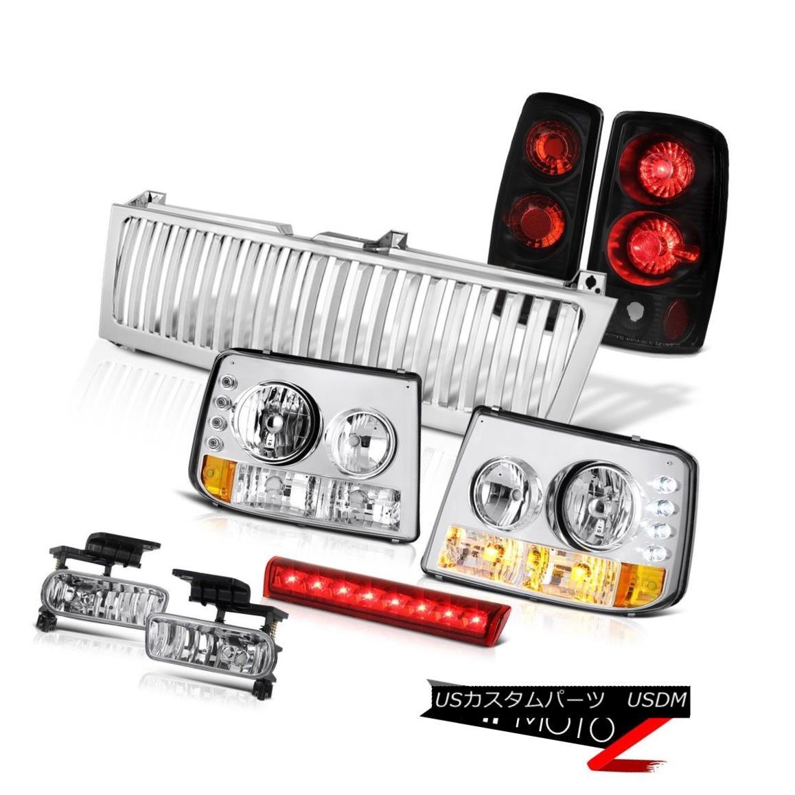 テールライト Bumper+Headlamps Tail Brake Lamps Fog Third Cargo LED Grille 00-06 Tahoe Euro バンパー+ヘッドラム psテールブレーキランプフォグ第3貨物LEDグリル00-06タホ・ユーロ