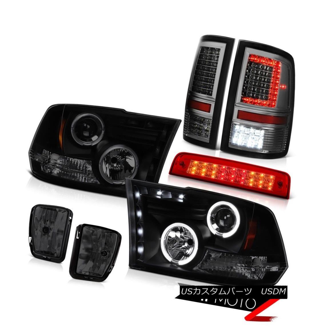 テールライト 13 14 15 16-18 Dodge RAM 1500 Tail Lamp Rosso Red Brake Light Fog Headlight PAIR 13 14 15 16-18ダッジRAM 1500テールランプロッソレッドブレー