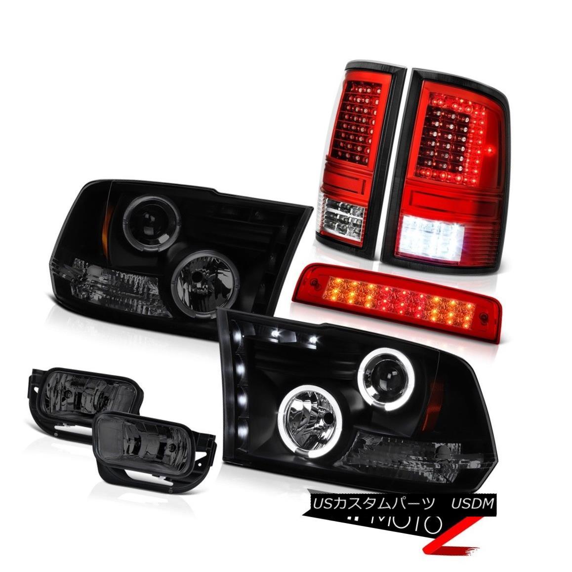 テールライト 09 10 11-18 Dodge RAM 2500 Tail Lamps Brake Lights Driving Head Lamp Assembly 09 10 11-18 Dodge RAM 2500テールランプブレーキライトDriving Head Lamp Assembly
