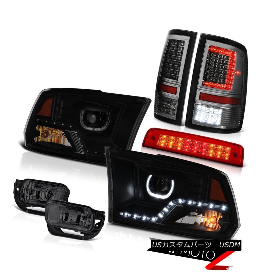 テールライト 09-13 Dodge RAM 1500 2500 3500 Tail Light DRL Headlight 3rd Brake Driving Lamps 09-13 Dodge RAM 1500 2500 3500テールライトDRLヘッドライト第3ブレーキ駆動ランプ