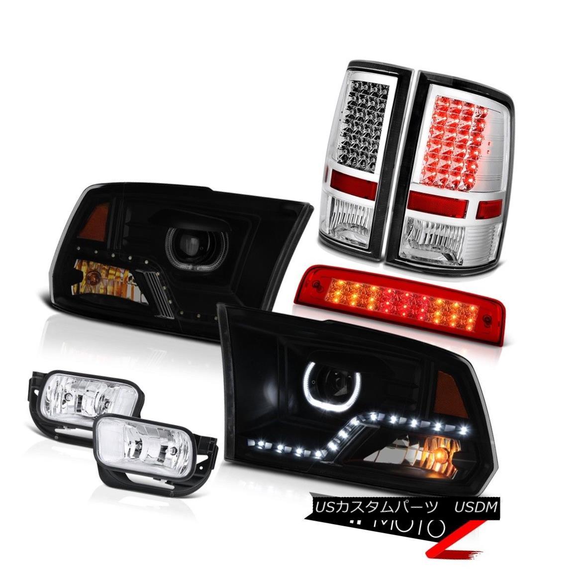 テールライト 09 10 11-18 Dodge RAM 2500 DRL Headlamps Brake Light Fog Lights Tail Lamp PAIR 09 10 11-18ダッジRAM 2500 DRLヘッドランプブレーキライトフォグライトテールランプペア