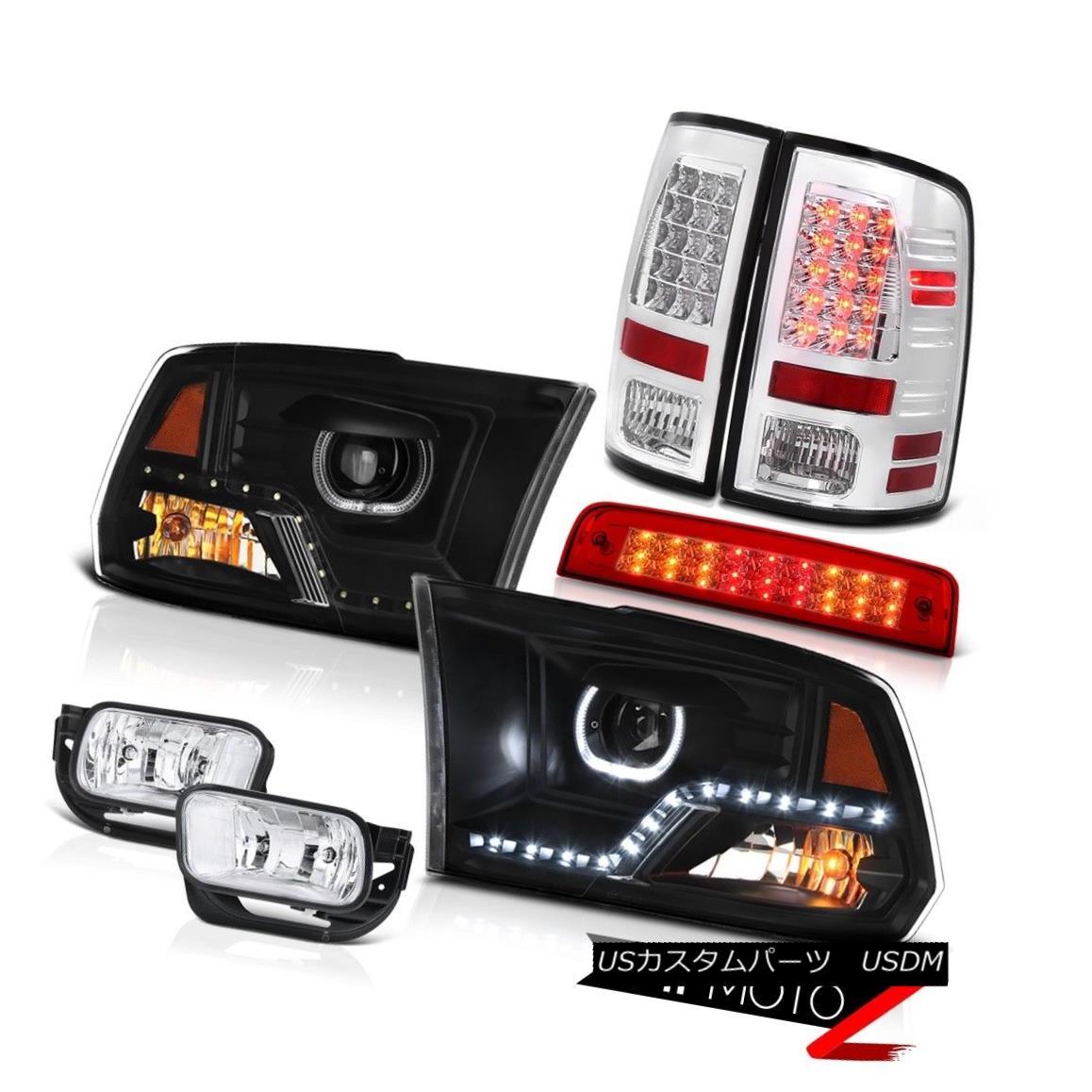 テールライト 09-18 Dodge RAM 2500 3500 DRL Headlamps Brake Lights Chrome Driving Lamp Tail 09-18 Dodge RAM 2500 3500 DRLヘッドランプブレーキライトChrome Driving Lamp Tail