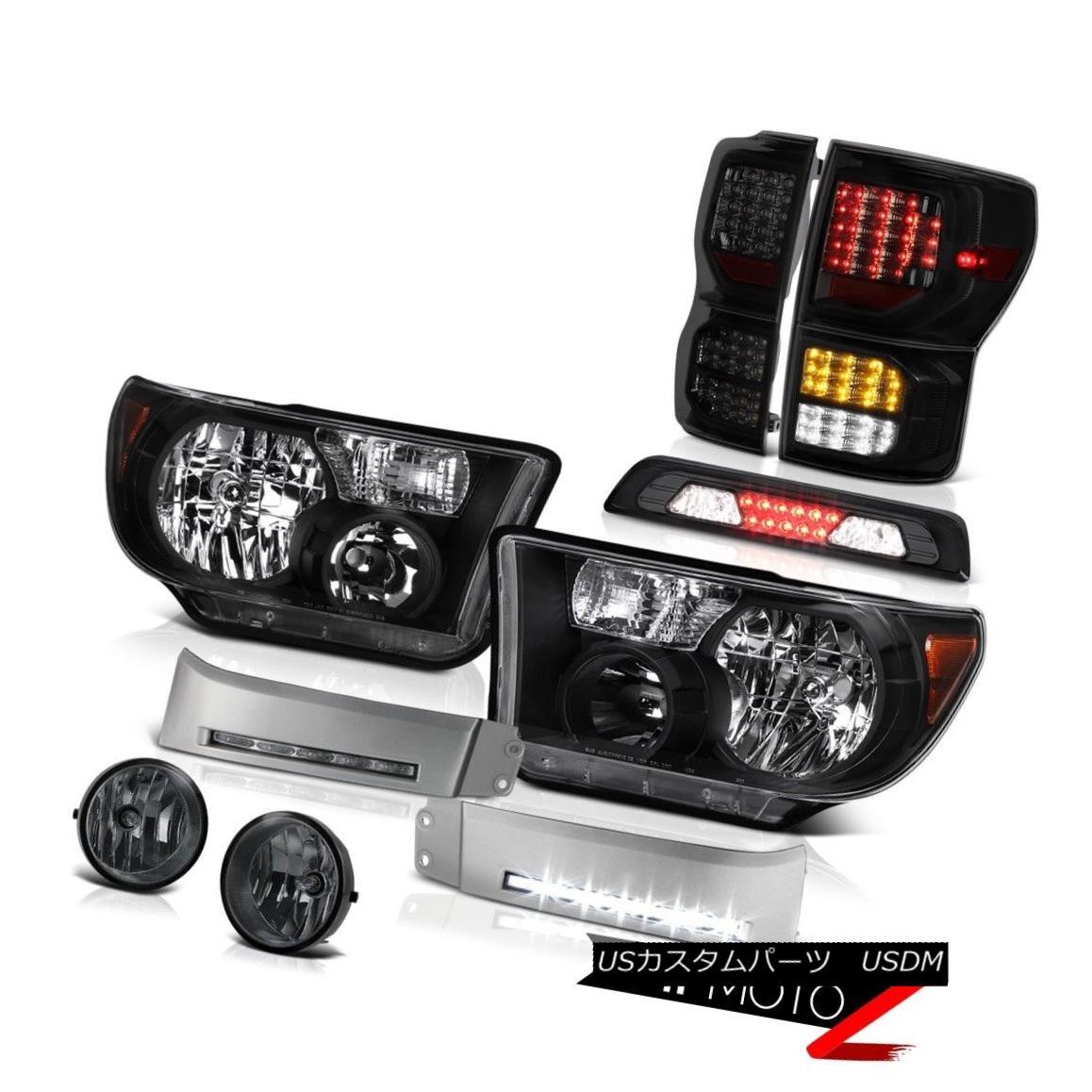 テールライト 2007-2013 Tundra SR5 Taillamps Headlights DRL Strip Roof Cab Light Foglights 2007-2013 Tundra SR5タイルランプヘッドライトDRLストリップルーフキャブライトフォグライト