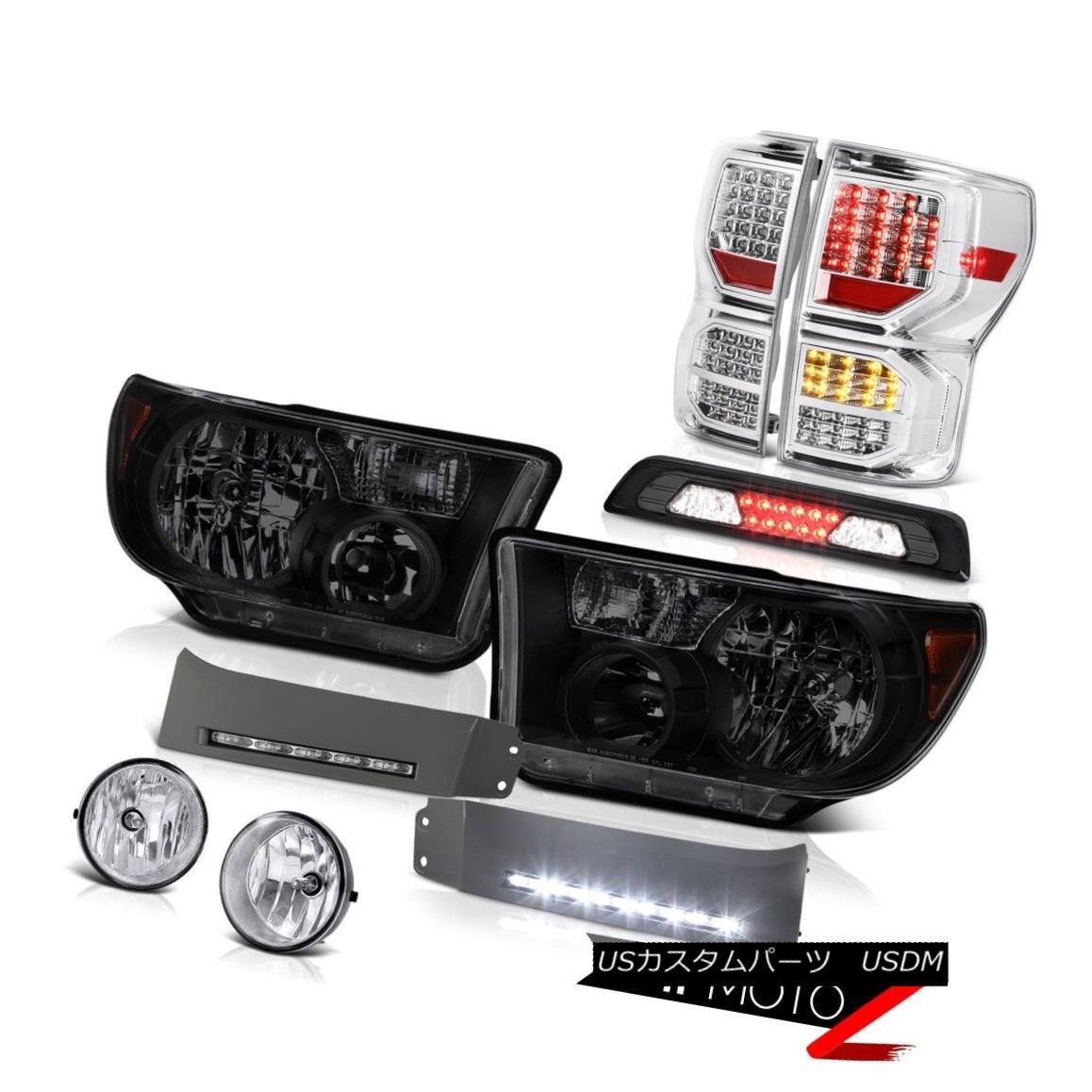 テールライト 2007-2013 Tundra SR5 Tail Lamps Headlamps DRL Strip High Stop Light Fog Lights 2007年?2013年Tundra SR5テールランプヘッドランプDRLストリップハイストップライトフォグライト