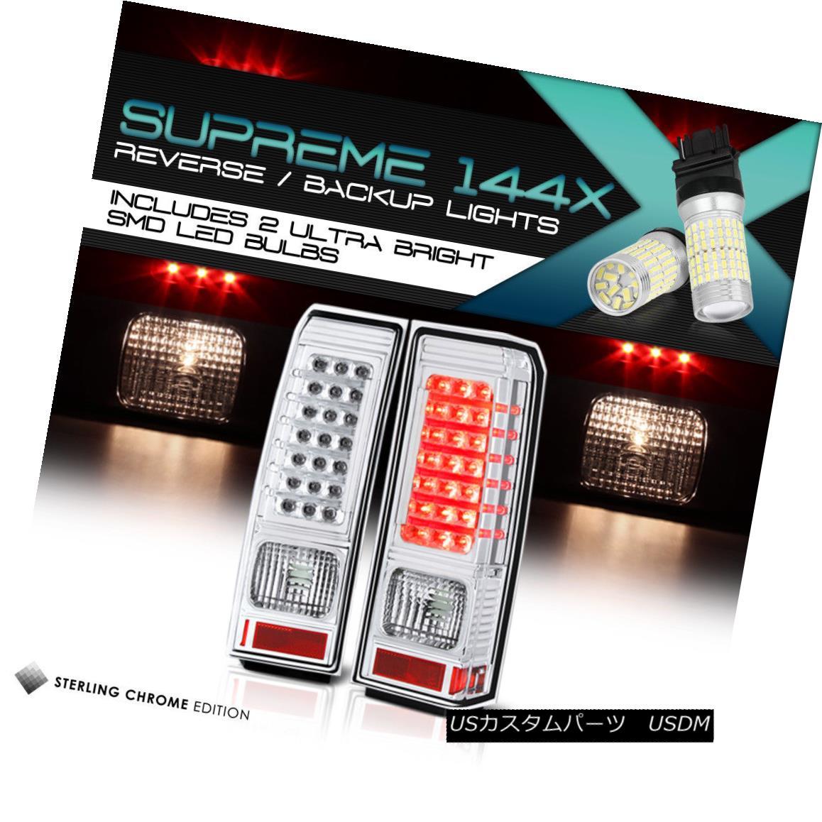 テールライト [360 Degree SMD Reverse] Hummer H3 06-10 New Chrome LED Tail Light Brake Signal [360度SMDリバース] Hummer H3 06-10新しいクロームLEDテールライトブレーキ信号