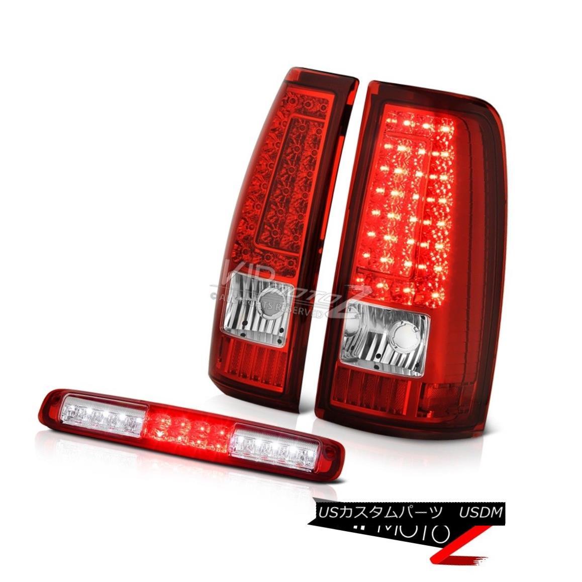 テールライト 03-06 Chevy Silverado Rosso Red 3RD Brake Lamp Taillamps LED SMD
