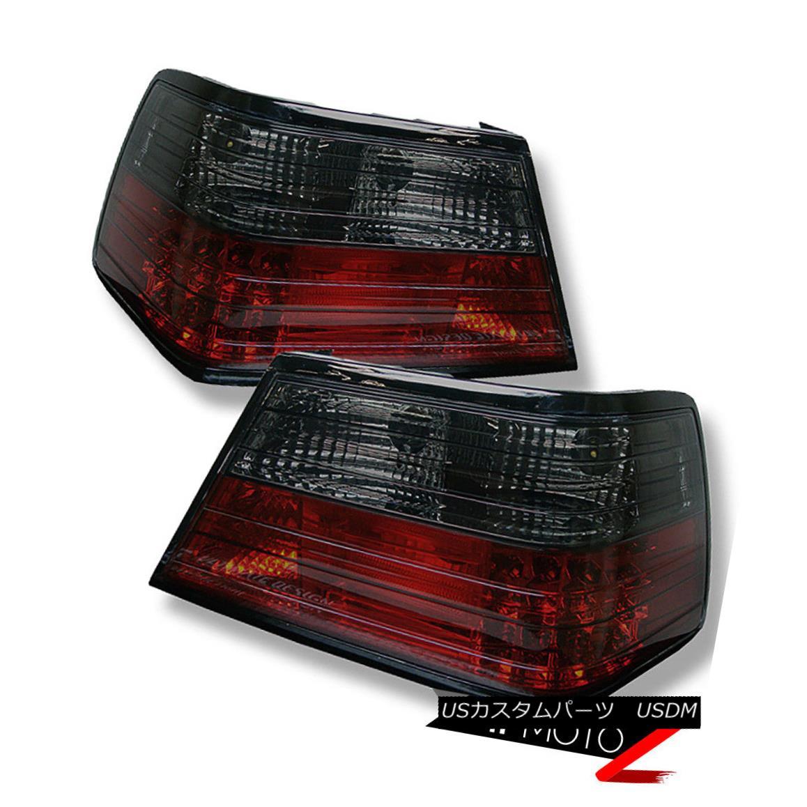 テールライト M-Benz 86-95 RED/SMOKE 300E/400E/500E 4MATIC LED Tail Light Brake Signal Lamp M-Benz 86-95 RED / SMOKE 300E / 400E / 500E 4MATIC LEDテールライトブレーキ信号ランプ