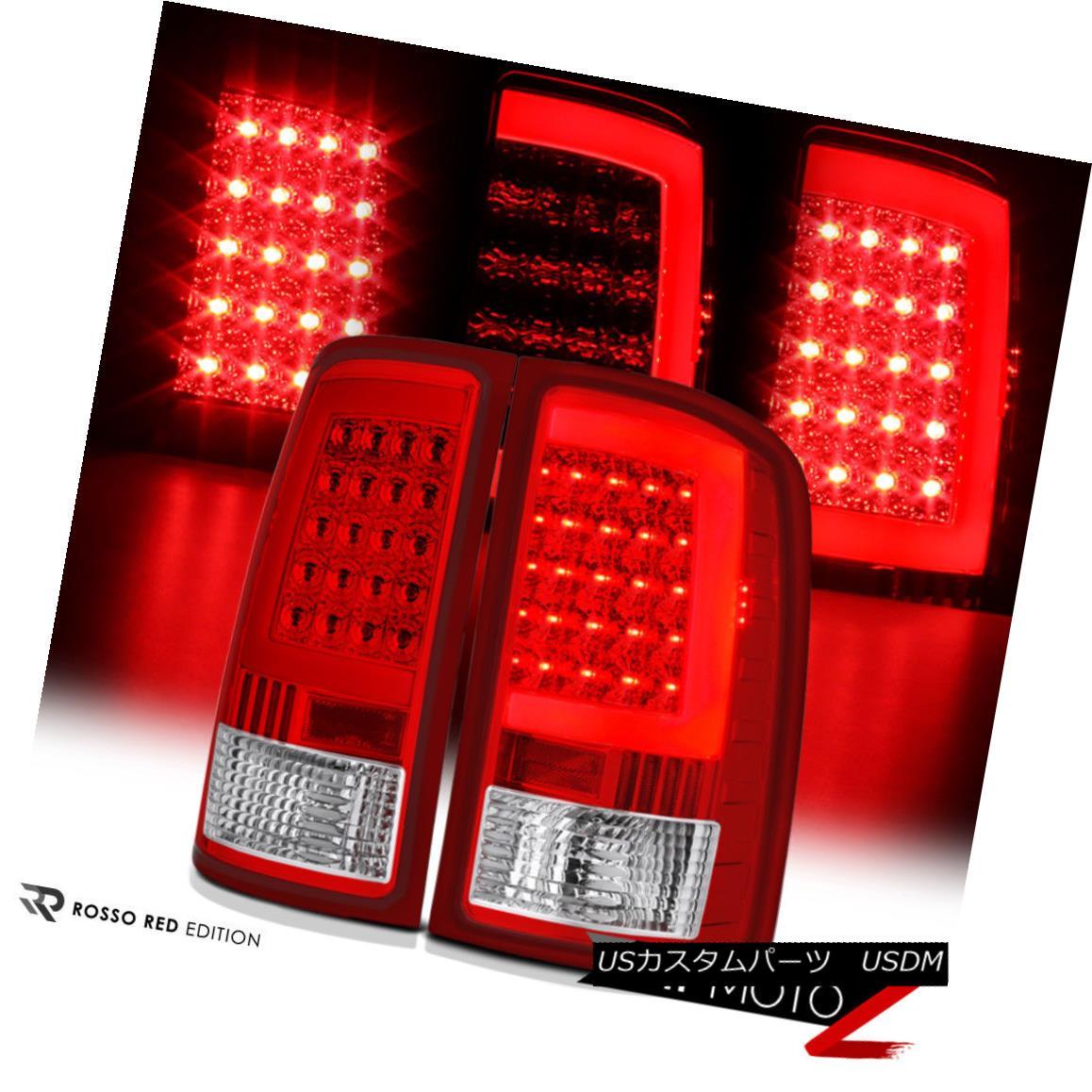 テールライト GMC Sierra 2007-2013 [Factory Style] LED Light Tube Rear Tail Lamps Brake Signal GMC Sierra 2007-2013 [工場スタイル] LEDライトチューブリアテールランプブレーキ信号
