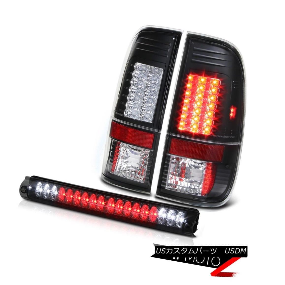 テールライト F150 SVT 1999 2000 2001 Black Brake LED Tail Light Roof Stop Lamp Smoke Ford NEW F150 SVT 1999 2000 2001ブラックブレーキLEDテールライトルーフストップランプスモークフォードNEW