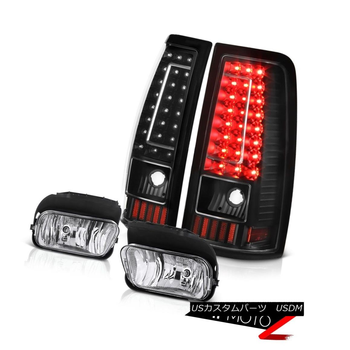 テールライト 2003-2006 Silverado Fog Lamps Tail Lights Crystal Lens LED SMD